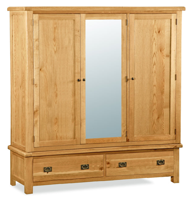 Dartmoor Extra Large Triple Wardrobe
