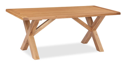Dartmoor 190cm Cross Dining Table