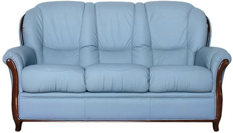 Garda 3 Seater Leather Sofa