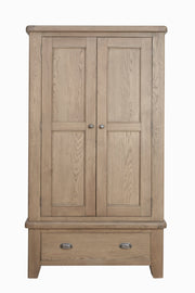 Havana Wooden 2 Door Wardrobe