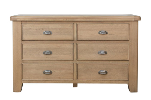 Havana Wooden 6 Drawer Chest Of Drawers