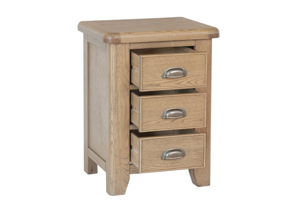 Havana Large Wooden Bedside Table