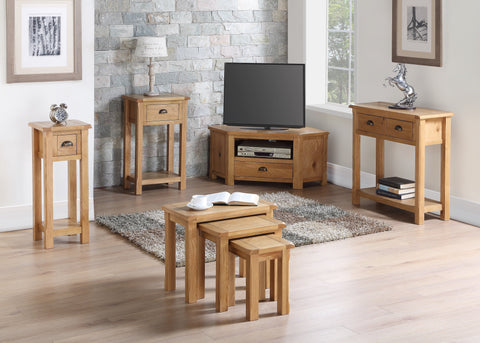 Kilmore Oak Small TV Unit