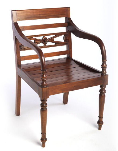 Mahogany Raffles Chair