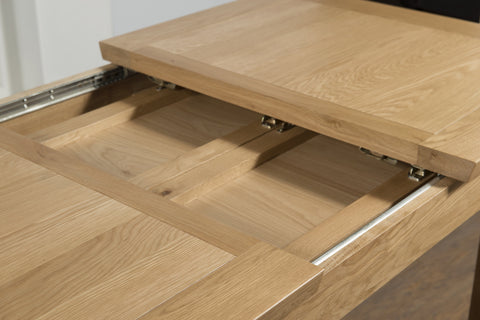 Truro Oak 4'0 Extension Dining Table