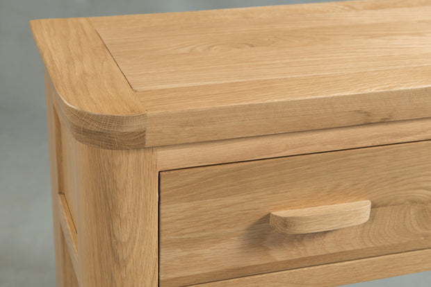 Truro Oak Large Coffee Table with Drawer