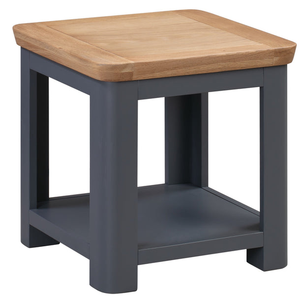 Truro Midnight Blue Lamp Table