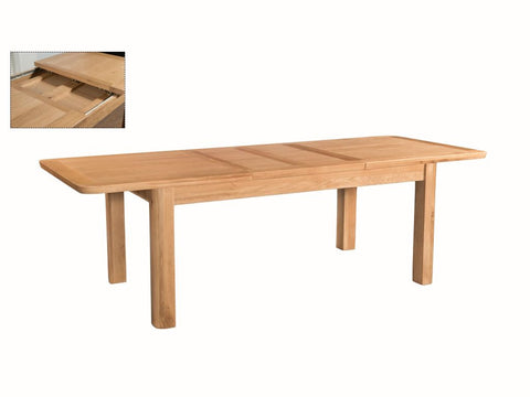 Truro 180cm x 100cm Dining Table - Extending