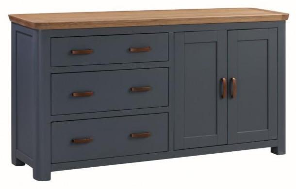 Truro Midnight Blue Large Sideboard