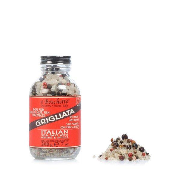 BBQ Herb and Sea Salt Grinder 200g