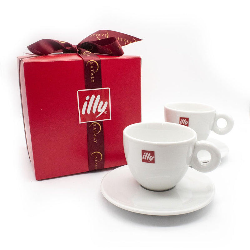 Illy Cappuccino Cup Set