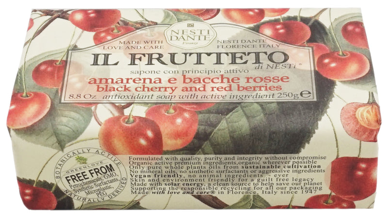 Soap Bar Frutteto Black Cherry