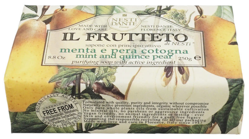 Soap Bar Frutteto Mint & Pear