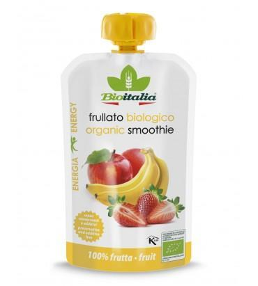 Puree Apple Strawb Banana 120gr