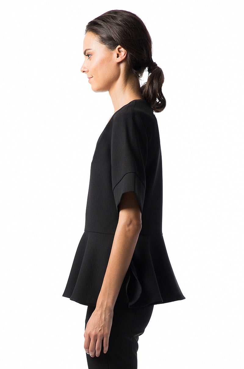 Hera Deep V Blouse