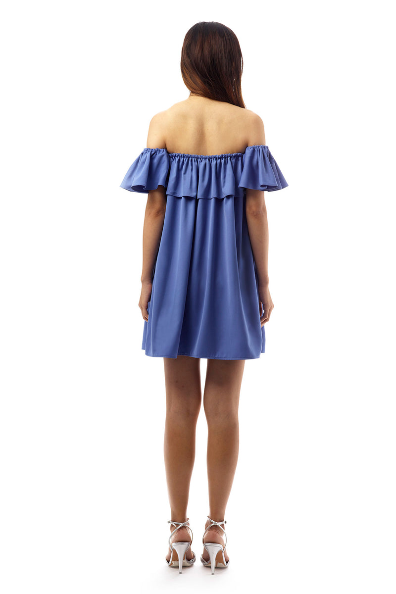 Holly Off-Shoulder Ruffle Dress