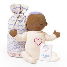 Load image into Gallery viewer, Lulla doll Lilac. Sleep solution for babies and toddlers. Helping them fall asleep easier and stay asleep for longer.