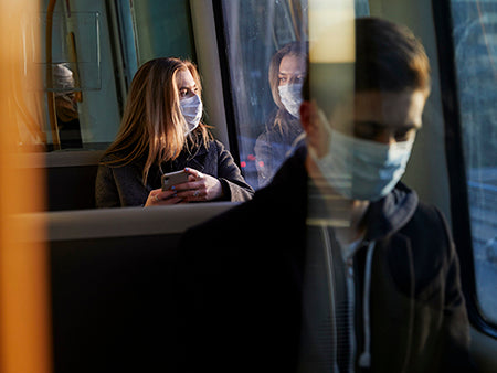 Rely on Public Transit? Here are some tips to stay safe.