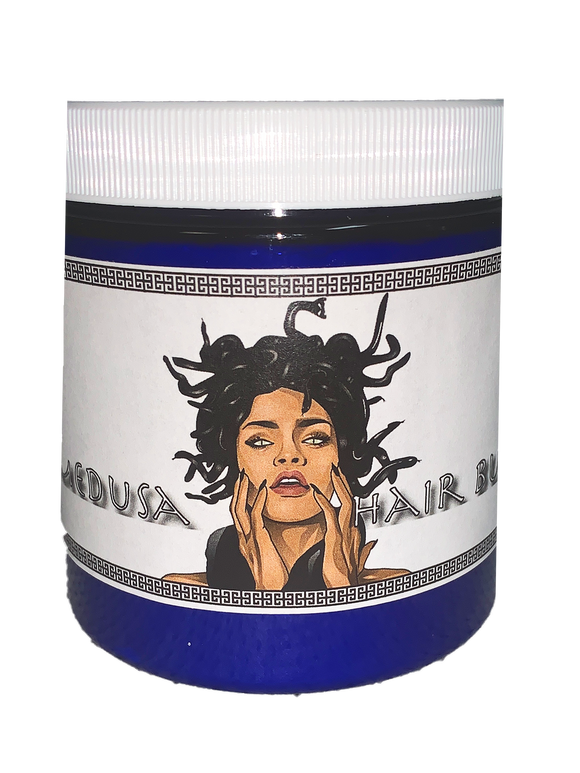 Medusa Hair Butter | Healthy Hair Butter | Protective Cream | Chebe & Fenugreek Hairdress | Curl Cream with Essential Oils Shea Butter and Castor Oil | Dry Hair and Scalp | Habbie Beauty - Habbie Enterprise