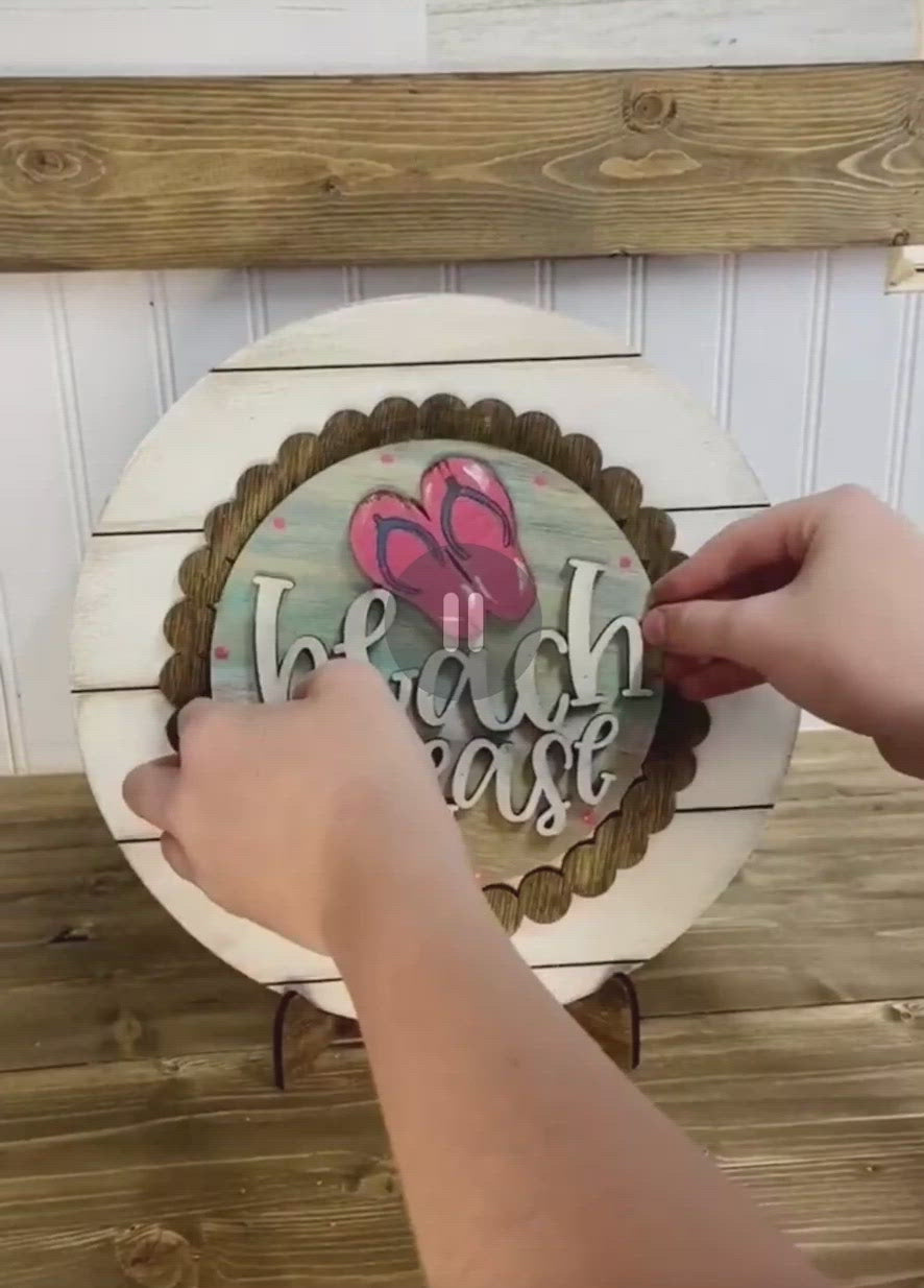 March 12th Class @ 6pm Interchangeable Plate Stand
