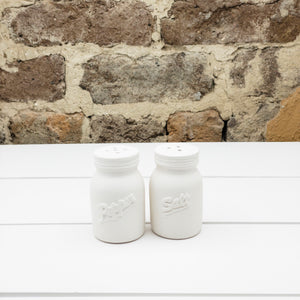 Mason Jar Salt and Pepper Shaker