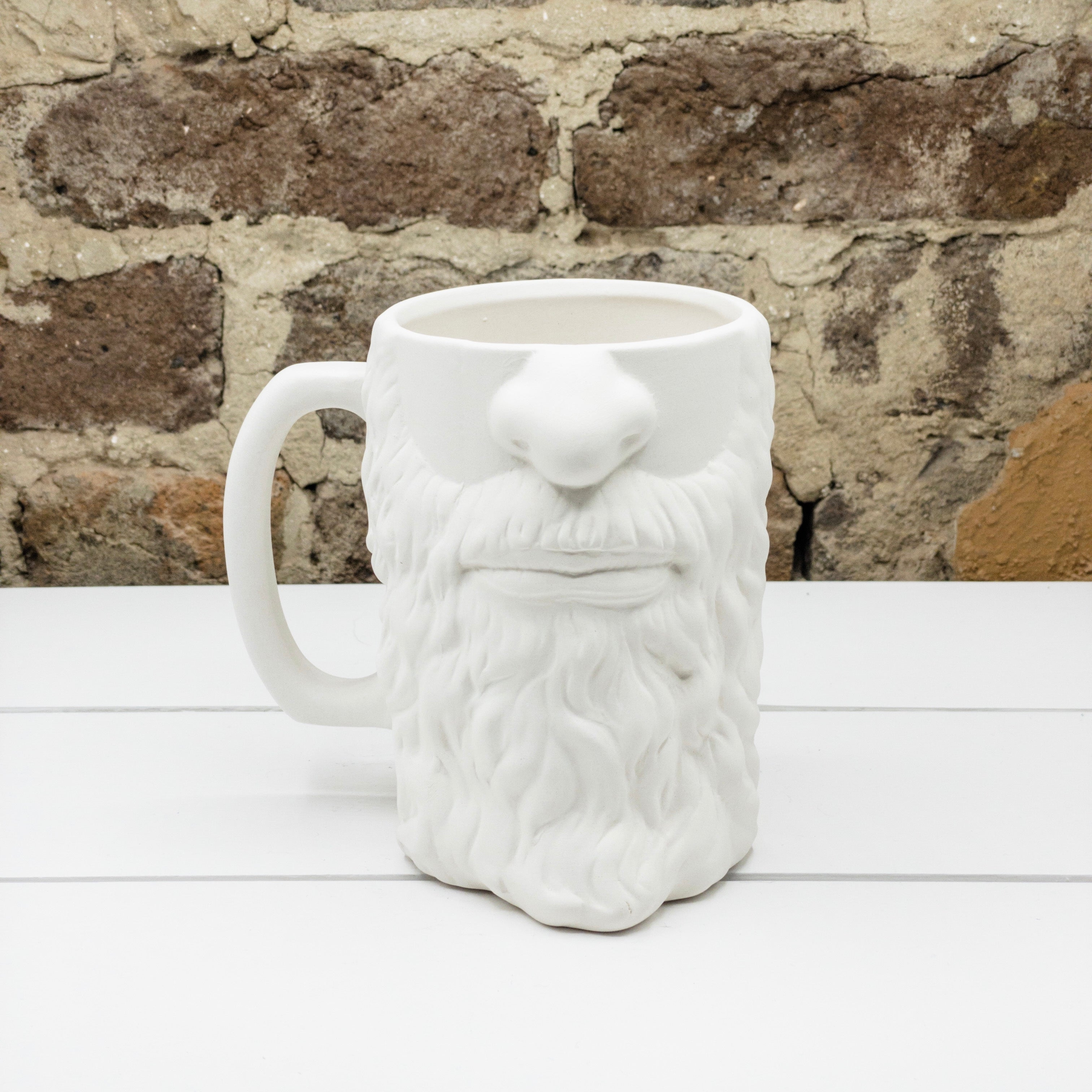 Bearded Beer Stein Mug