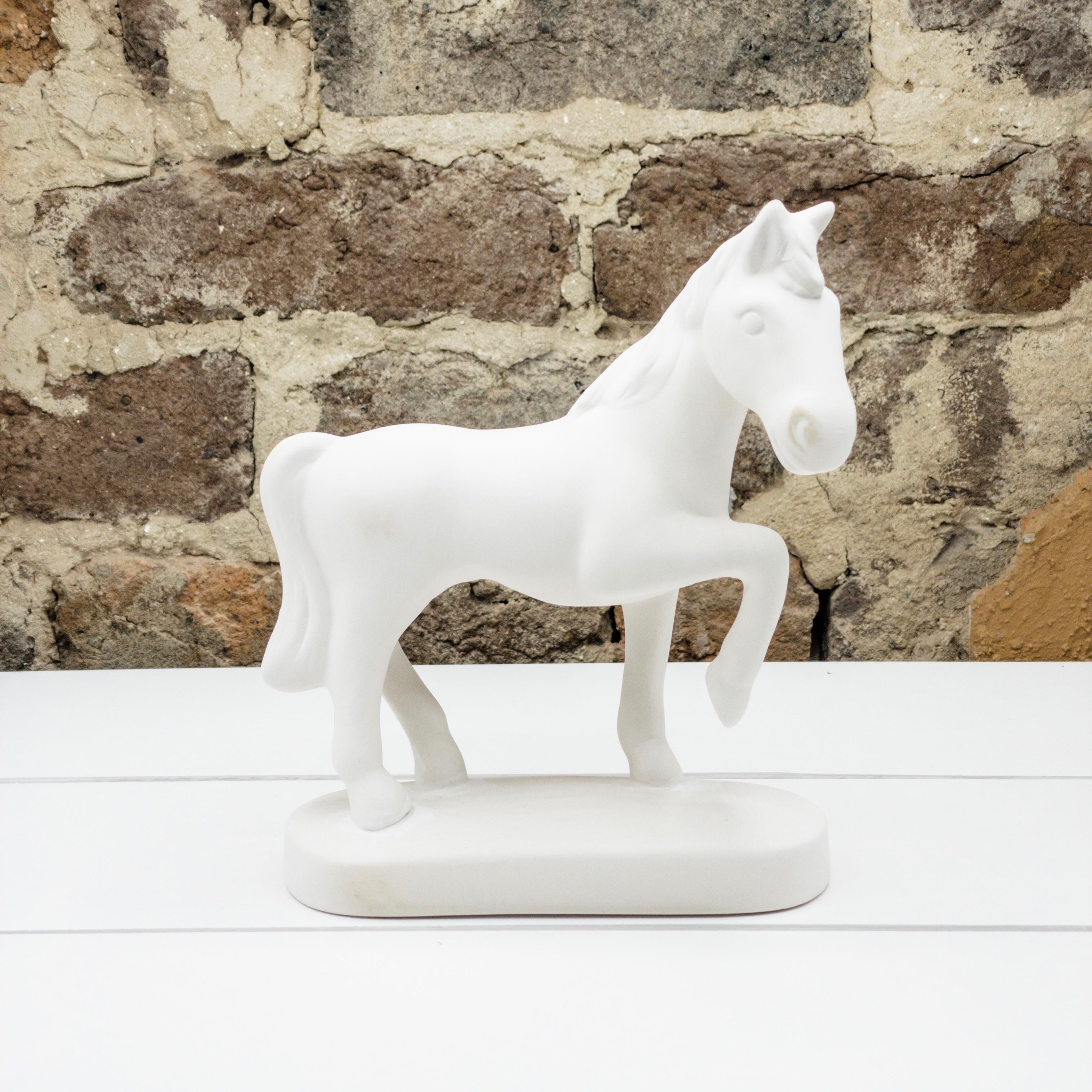 Standing Horse w/Base