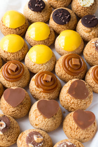 Selection of Choux pastries