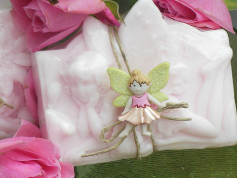 AUBREY. Fairy Princess shea butter soap.