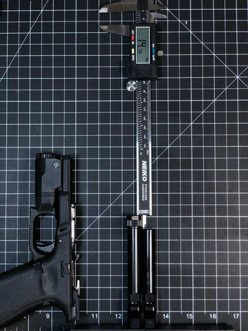 how to measure added length of threaded barrel for proper safariland barrel stop