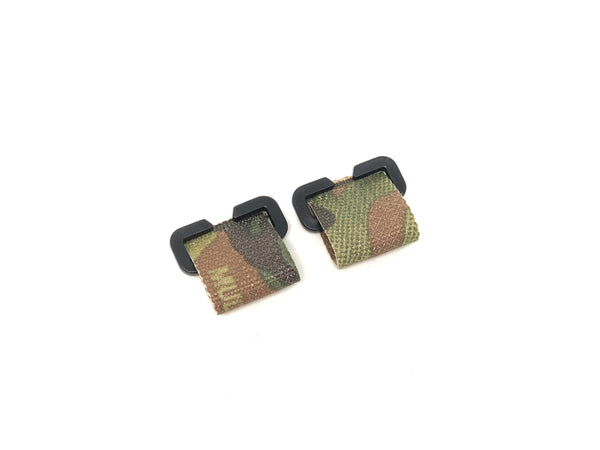 set of multicam plate carrier placard extenders