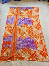 Load image into Gallery viewer, Orange and Purple Quilt