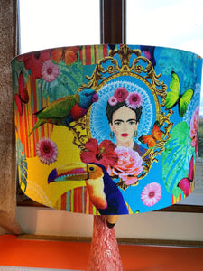 Bright, Colourful Lampshade