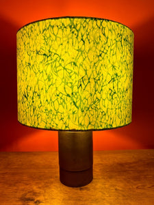 Sketchy Green Lampshade