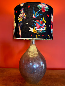 Tattooed Lady Lampshade