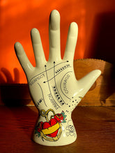 Load image into Gallery viewer, Palmistry Tattoo Hand - Hate