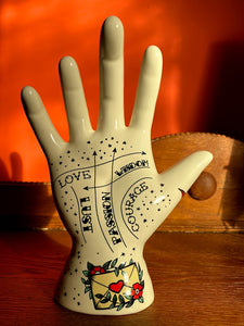 Palmistry Tattoo Hand - Love - Back In Stock Soon