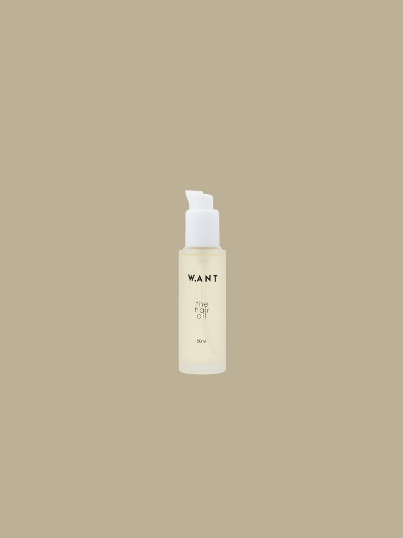 the hair oil WANT skincare ethical cruelty-free skincare based in Singapore