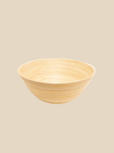 Load image into Gallery viewer, bamboo bowl eco-friendly tableware handmade in Vietnam