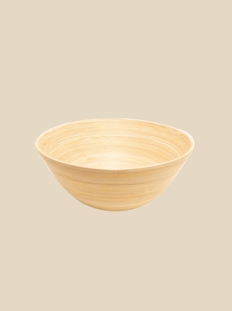 bamboo bowl eco-friendly tableware handmade in Vietnam