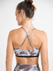 Hydra bra camo Maha Yogi ethical activewear shop slow fashion