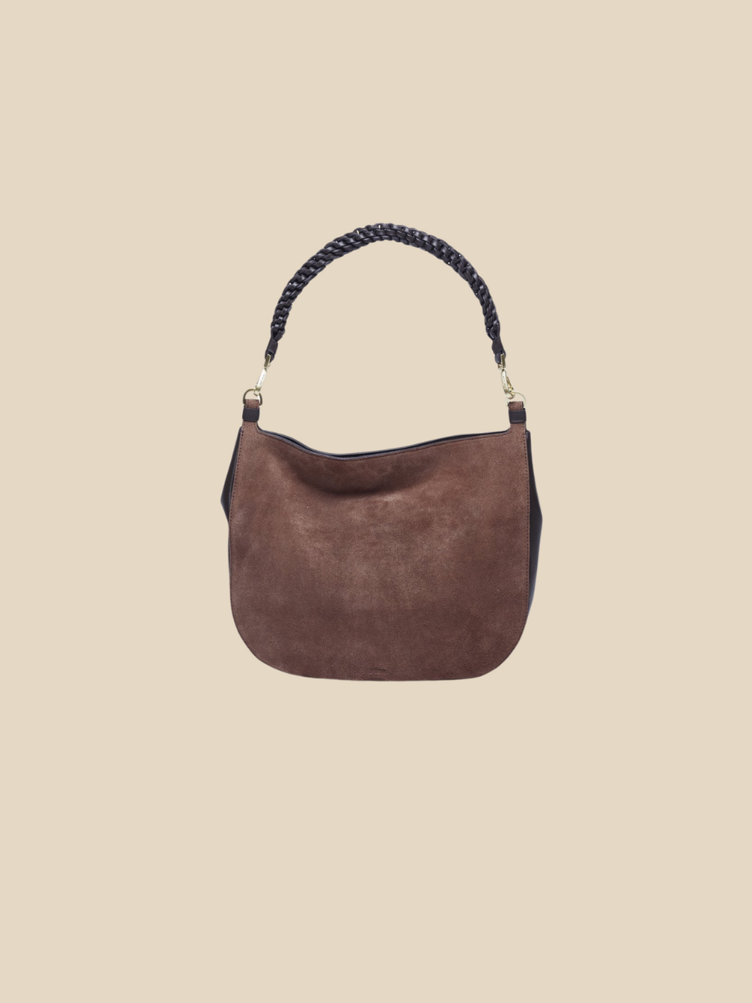 Ril Creed Erica suede bag ethically made from upcycled scrap leather ethical fashion brand based in Hong Kong