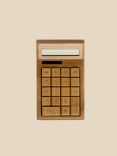 Load image into Gallery viewer, Solar Powered Bamboo Calculator