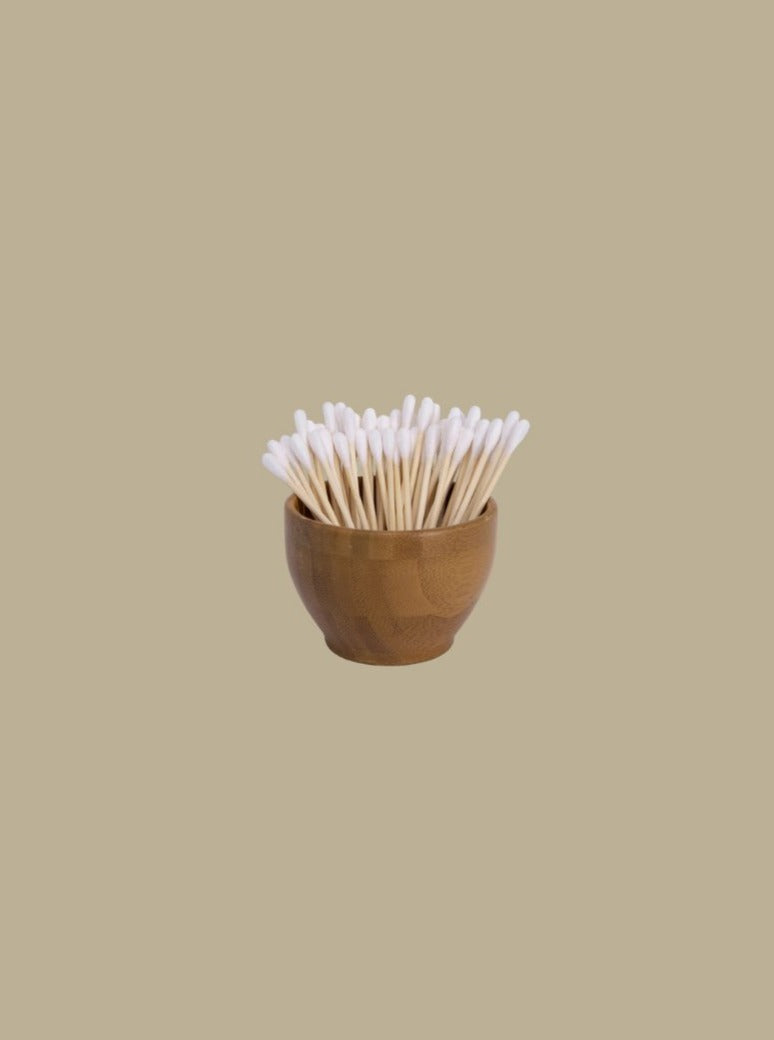 bamboo 100% biodegradable cotton buds zero waste bathroom essentials