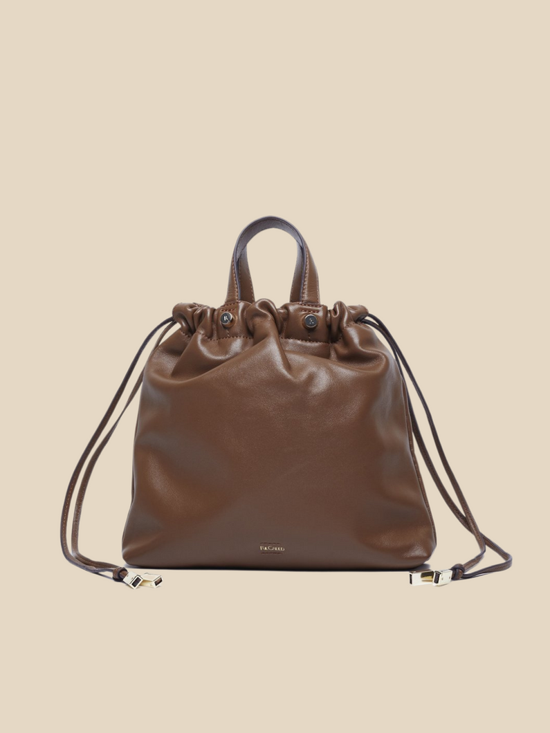 Ril Creed Sally bag ethically made from upcycled scrap leather ethical fashion brand based in Hong Kong
