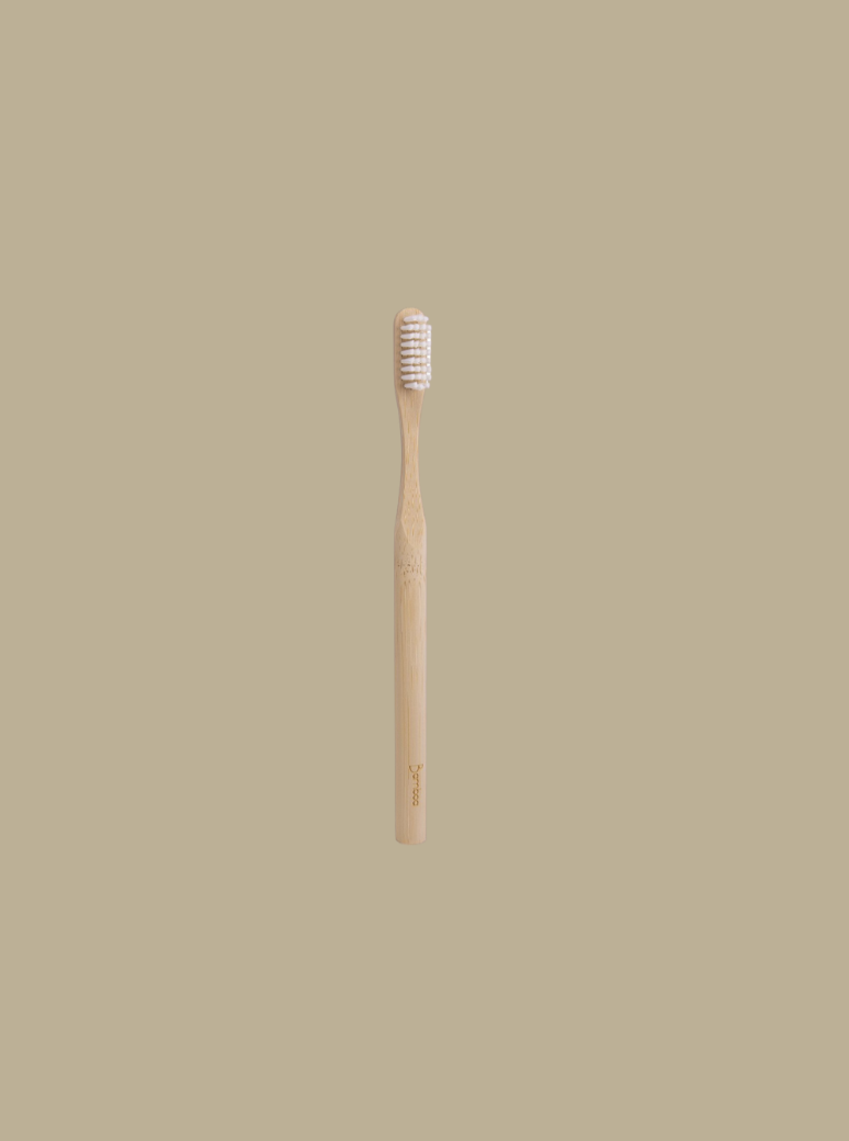 antibacterial zero waste bamboo toothbrush 100% biodegradable