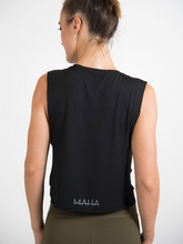 將圖片載入圖庫檢視器 Maha Yogi sugba tank top black ethical activewear modal tank top yogi wellness brand