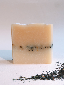 a sip of ceylon lemon tea handmade soap natural cruelty-free zero waste skincare