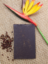 Load image into Gallery viewer, Conspiracy Chocolate bean-to-bar sichuan pepper chocolate made in Hong Kong