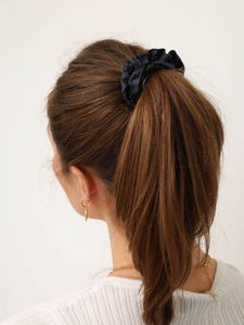 New Yorker Silk Scrunchie